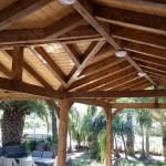 בניית פרגולה מרהיבה
