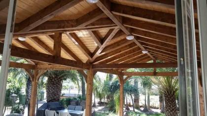 בניית פרגולה מעץ