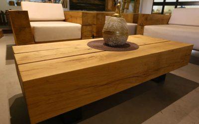 שולחן סלון מעץ