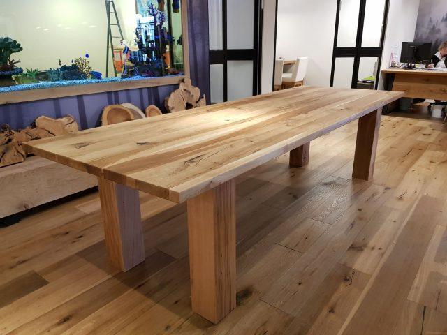 שולחן מעץ אלון צרפתי